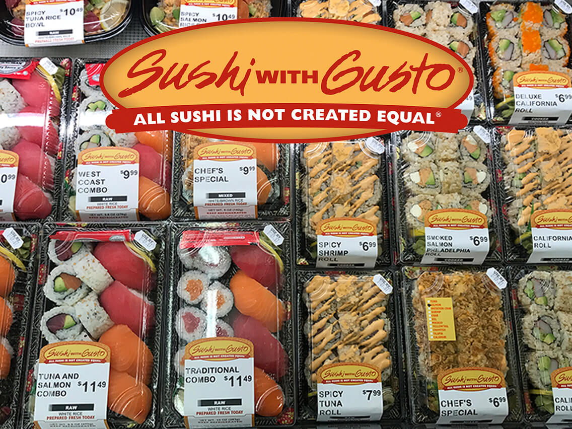 Ron's | SUSHI with GUSTO